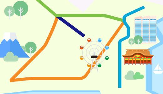 神奈川風俗路線図